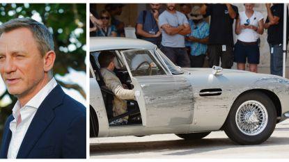 Peperdure Aston Martin komt behoorlijk gehavend uit opnames nieuwste James Bond-film