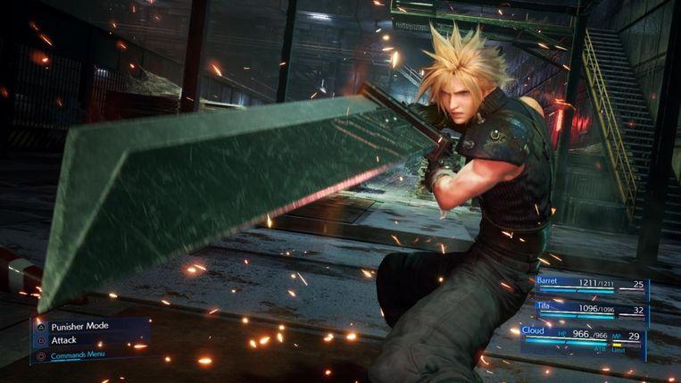 De remake van 'Final Fantasy VII'.