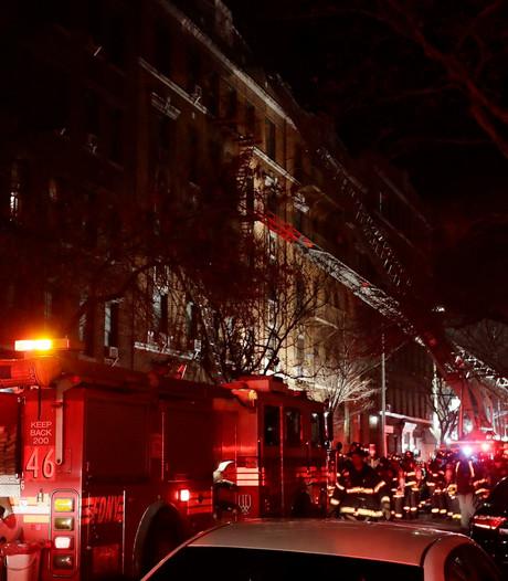 Doden door brand in hotel Praag