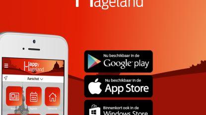 Aarschotse handelaars nu ook  op VlaanderenOnline en  Happy Hageland-app