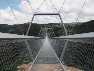 's Werelds langste wandelhangbrug opent in Portugal