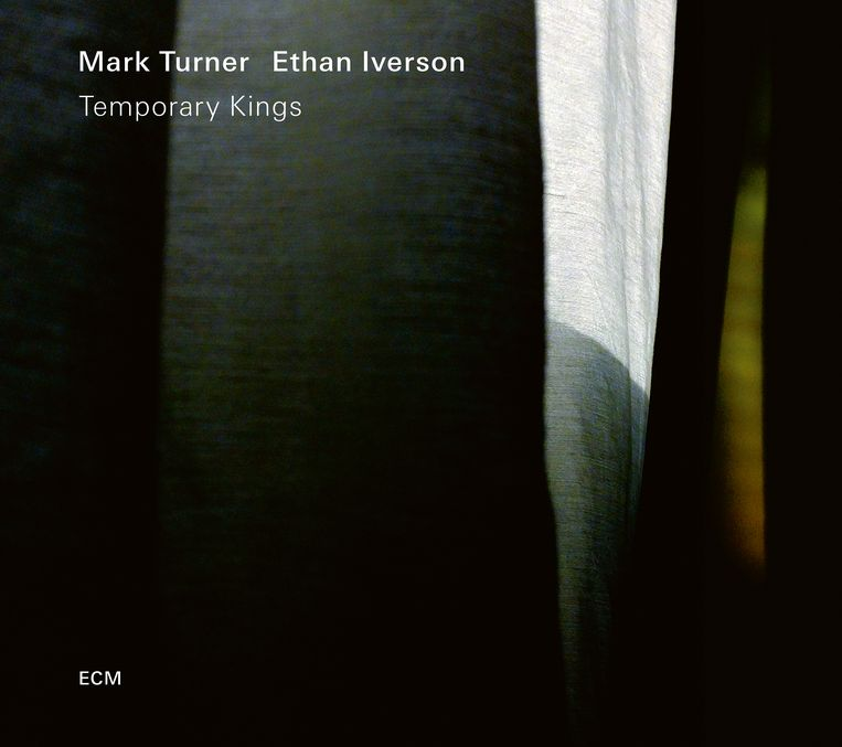 Albumhoes Temporary Kings, Mark Turner & Ethan Iverson Beeld ECM