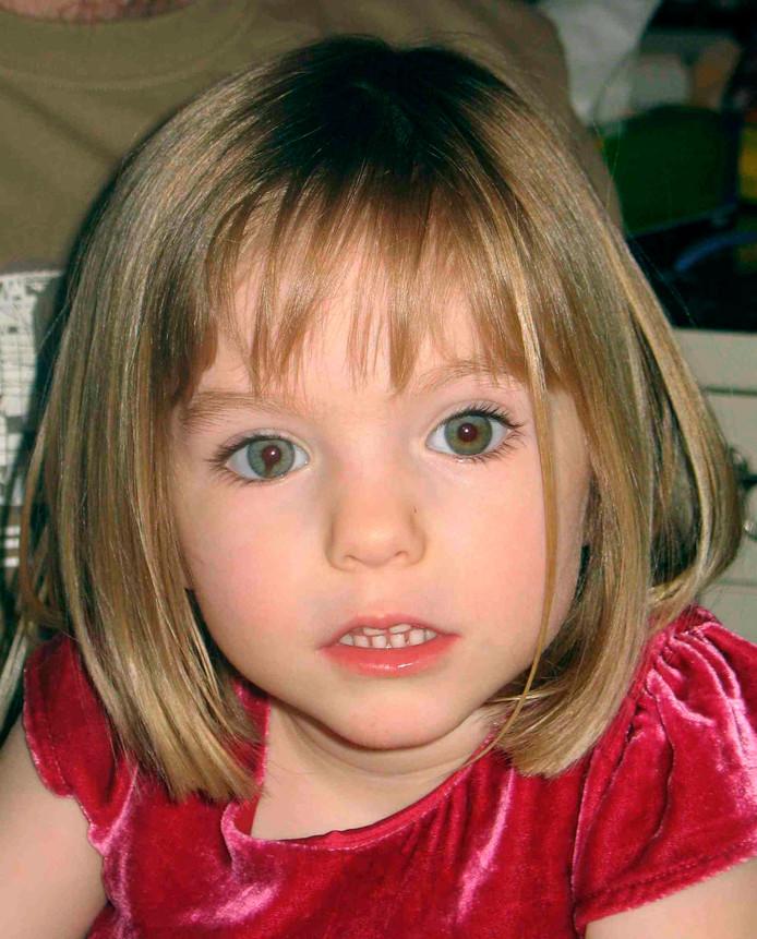 Madeleine McCann, vermist sinds 3 mei 2007.