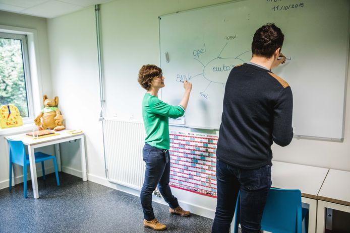 Leerkrachten van de ziekenhuisschool zullen voortaan ook lesgeven aan leerlingen van leefgroep De Steiger.