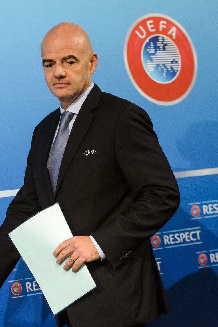 Het Uitvoerend Comité van de UEFA steunt unaniem de kandidatuur van de Italiaanse Zwitser