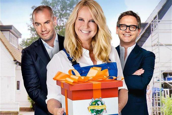 Jeroen, Linda en Guus.