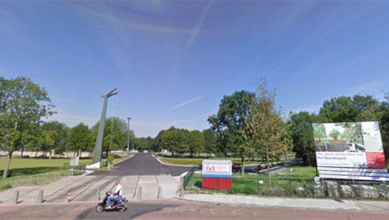 Het oostelijk deel van het Volewijkspark dat inmiddels is opgeleverd. Foto Googlemaps Beeld