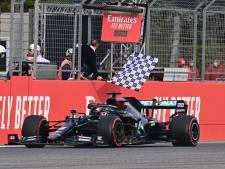 Hamilton gagne à Imola, 7e titre consécutif record pour Mercedes
