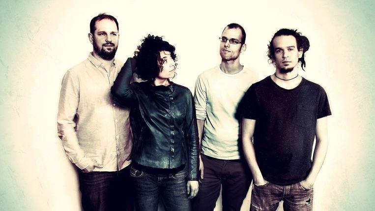 De bandleden die Whocat vormen.