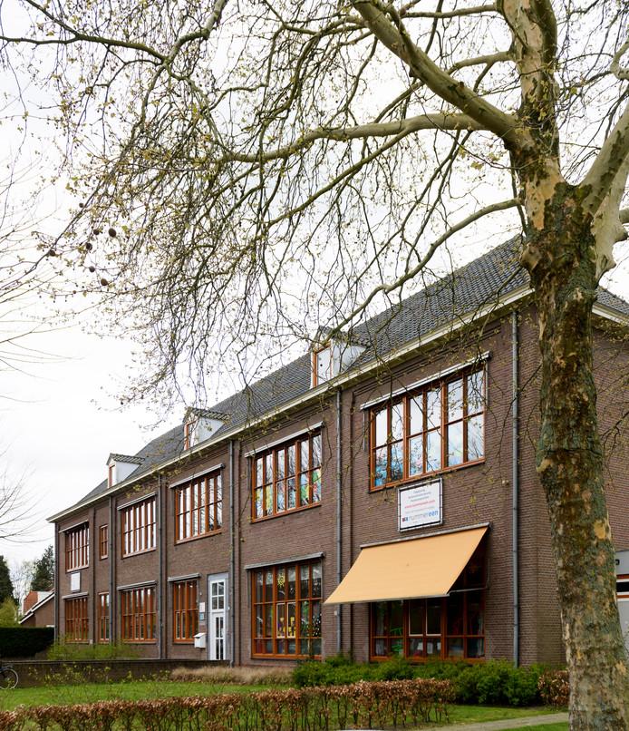 De basisschool in Oerle.