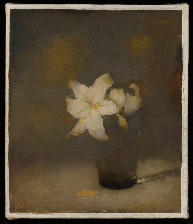 Jan Mankes: Glas met lelie, 1910. Beeld Collectie Museum More