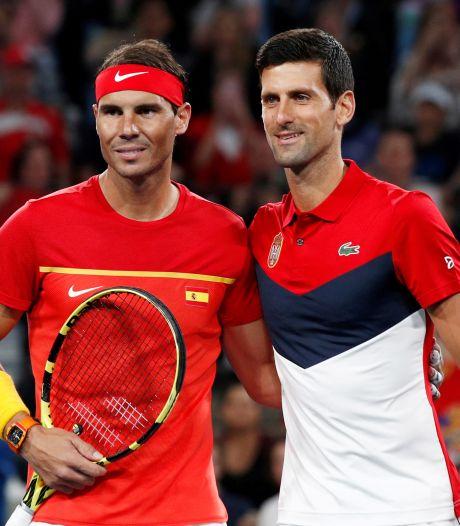 Djokovic en Nadal starten voorbereiding op Australian Open met ATP Cup