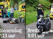 Opmerkelijk: binnen een uur ongelukken met losliggende tegels in Breda en Roosendaal