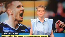 """Sporza-presentatrice Catherine Van Eylen over haar kledingkeuzes: """"Ik sta achter alles wat ik draag"""""""