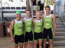 Twaalfde plek voor triatleten TC Twente bij EK Landenteams