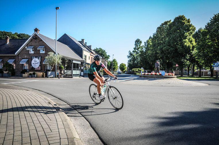 Maartje traint hard voor de rit van meer dan 1.500 kilometer.