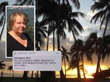 Rotterdamse Evelien opgeschrikt door raketalarm Hawaii: Ik moest huilen