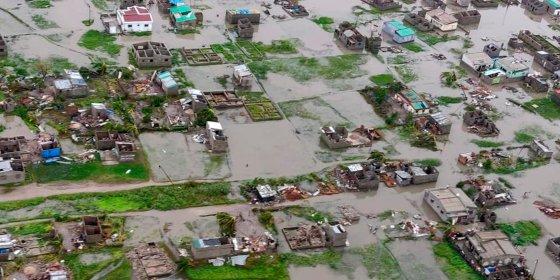 Cycloon vaagt Mozambikaanse havenstad Beira weg, zeker 150 doden