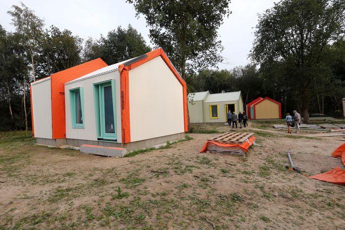 Vanaf december kunnen de eerste bewoners terecht in de Skaeve Huse.