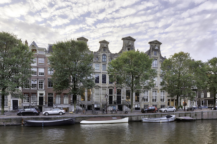 De Cromhouthuizen aan de Herengracht.