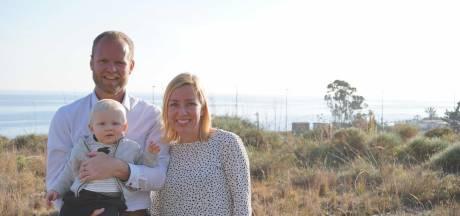 Gezin uit Enschede op avontuur in Spanje: bouw in volle gang