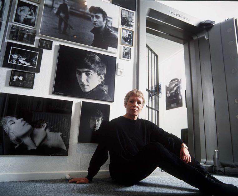 Astrid Kirchherr in 1995 Beeld Hollandse Hoogte / REX by Shutterstock HH
