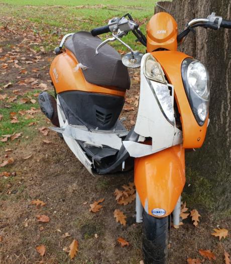 Scooterrijder raakt gewond bij aanrijding in Hengelo