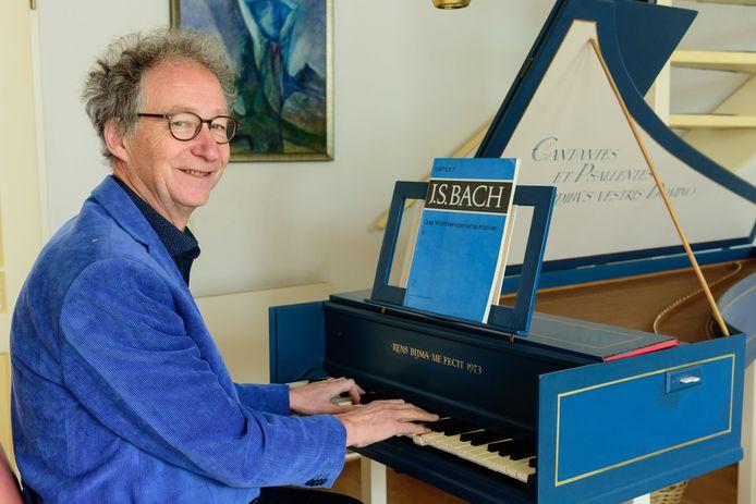 Rens Bijma zou de Johannespassion van Johan Sebastiaan Bach dit jaar op Texel uitvoeren. 'Heel spijtig dat dit niet door kan gaan'.