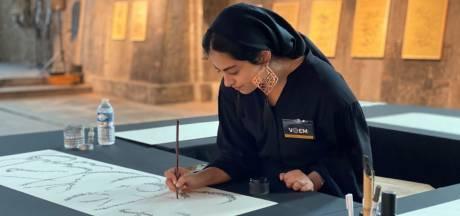 """Kalligrafen tonen werken met Lam Gods als inspiratie: """"De gezichten uit het drieluik zie ik vandaag nog steeds in Gent"""""""