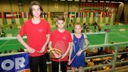 Drie Patteetjes zetten Belgische topprestaties neer op internationaal badmintontoernooi
