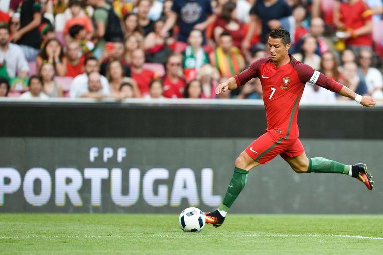 Cristiano Ronaldo. Beeld null