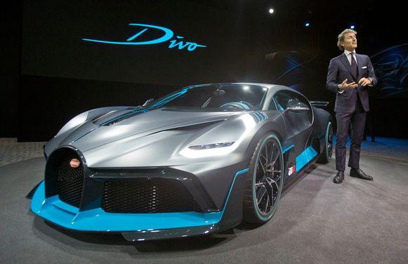 CEO Stephan Winkelmann presenteert de nieuwe Bugatti Divo