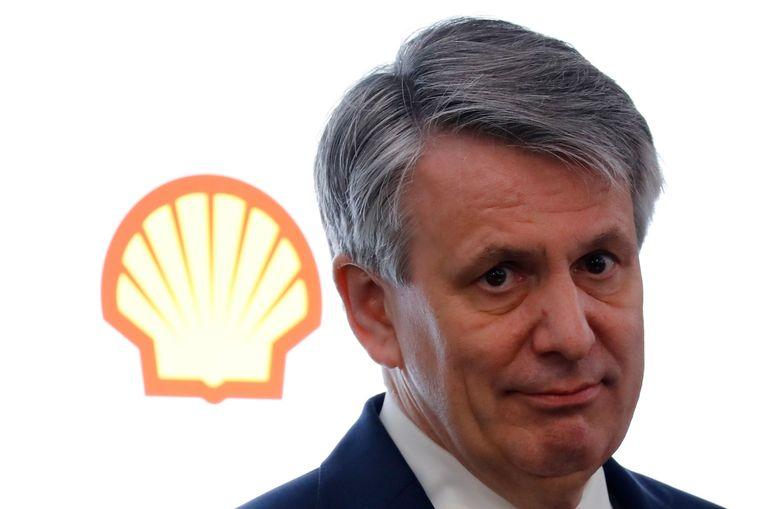 Ben van Beurden, ceo van Shell, sluit een vertrek van het hoofdkantoor van de multinational uit Nederland niet langer uit.  Beeld AFP
