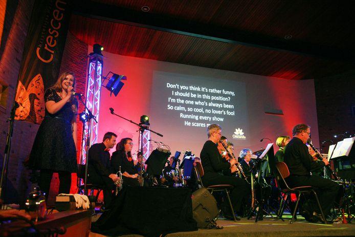 Walinda de Jong in perfecte harmonie met Crescendo.