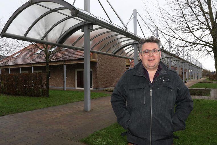 Directeur Matti Vandemaele van Peace Village.