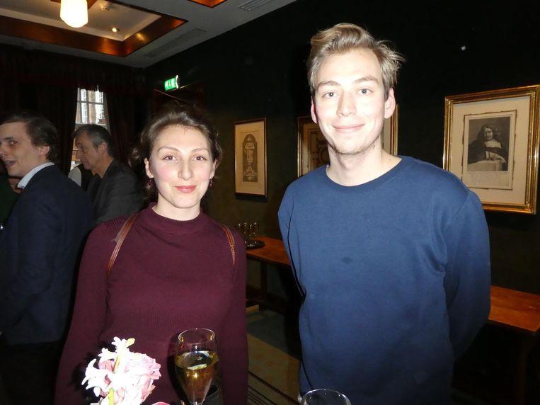 Zara Toksoz en Tim Wagemakers, programmamakers bij De Balie. Wagemakers: