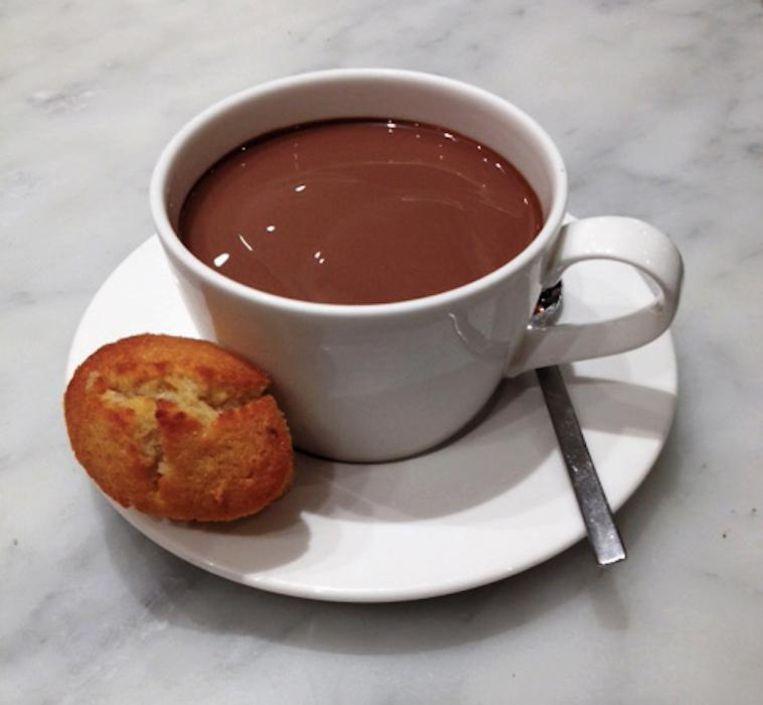 Warme chocolademelk van Pompadour Beeld Pompadour
