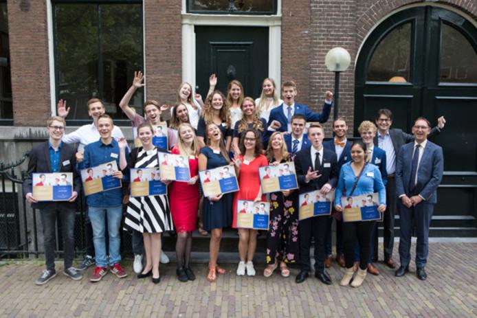 Alle winnaars van de Onderwijsprijs 2018.