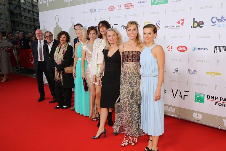 De cast van 'Tabula Rasa'.