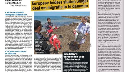Drie baby's verdronken voor Libische kust