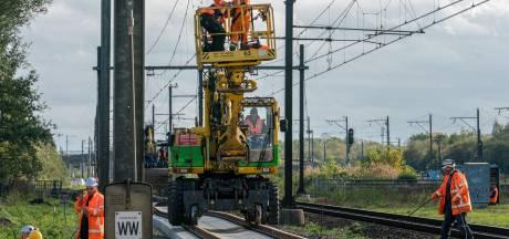 Vijf dagen lang geen treinen tussen Eindhoven, Den Bosch en Tilburg