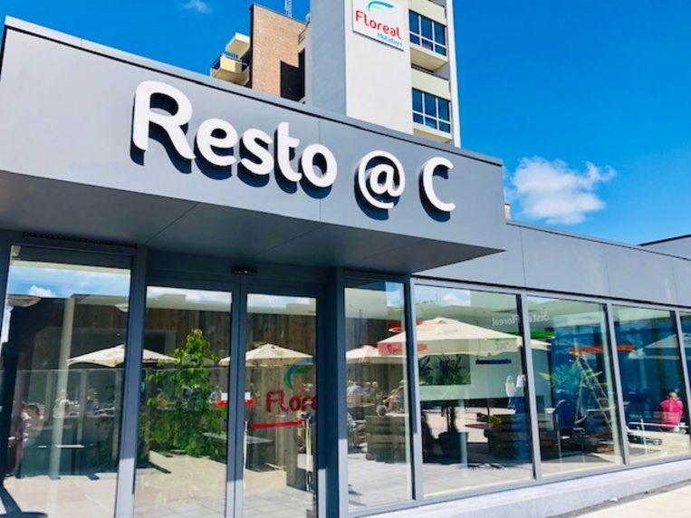 Het nieuwe restaurant Resto@C op het vakantiedomein Floreal