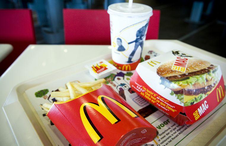 De Big Mac is uit. Beeld null