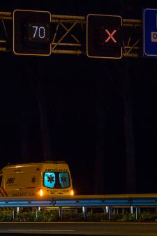 Aanrijding tussen aantal voertuigen op A2 bij Liempde