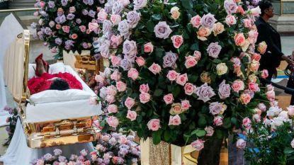 Overleden Aretha Franklin krijgt in doodskist elke dag andere jurk aan