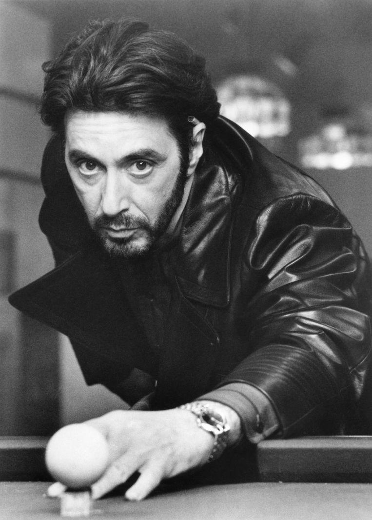 Al Pacino op de set van Carlito's Way. Beeld Corbis via Getty Images