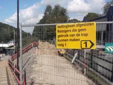 Hellingbaan station Rhenen op de schop