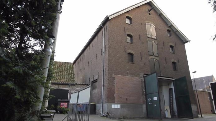 De brouwerij komt in het oude graanpakhuis op hete voormalige ISCO-terrein.