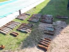 Milsbekenaar vindt kogels en ruim 60 explosieven bij leggen fundering in tuin