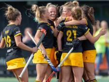 Hockeysters Den Bosch zetten Bloemendaal opzij